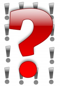 question-mark vs exclamations